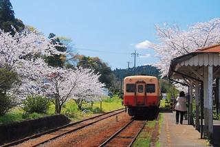 小湊鐵道高滝站