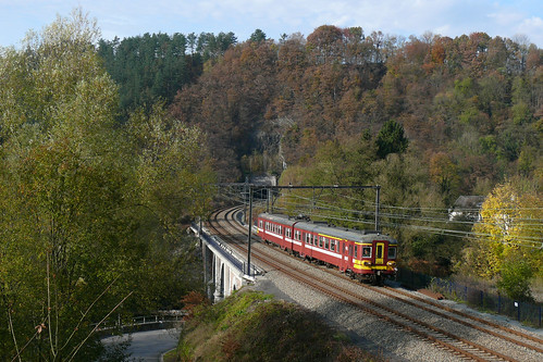 SNCB/NMBS 268 Goffontaine 31.10.2009