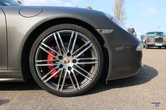 Porsche 911 type991 Targa wheel - Photo of Quatzenheim