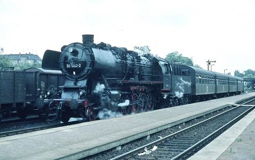DR 50 1992-2 (ex 50 1992; Hainaut 1943; ÜK) Bw Nossen
