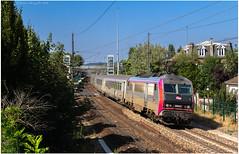 BB 26 032 + Corail Basse Normandie à Villennes sur Seine - Photo of Ecquevilly