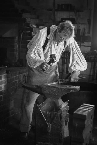 Fort Vancouver Blacksmith