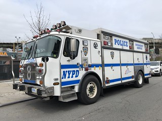 NYPD Emergency Service Unit Truck 8 E-One #5708.
