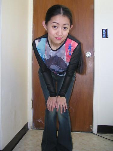 Mei - Sheer Shirt