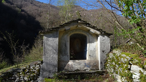 Bildstock unterhalb von Niva im Onsernonetal