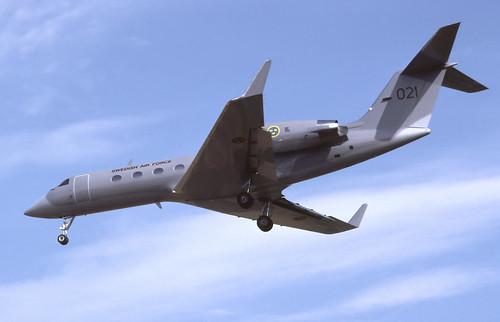 Swedish Gulfstream III