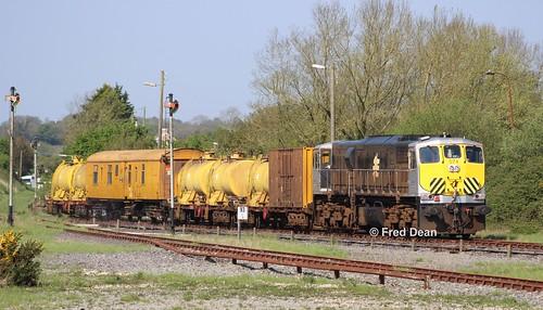 Irish Rail 074 in Wellingtonbridge.
