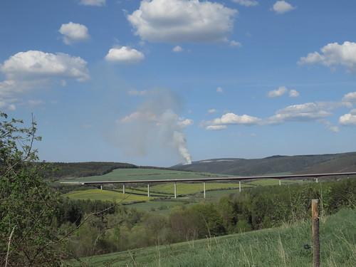 Waldbrand bei Kleinbreitenbach