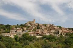 Hillside village of Eus - Photo of Estoher