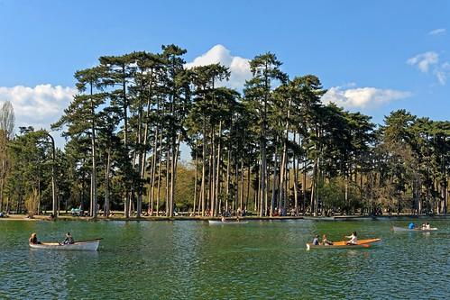 Paris / Bois de Boulogne / Lac Inférieur / Boats