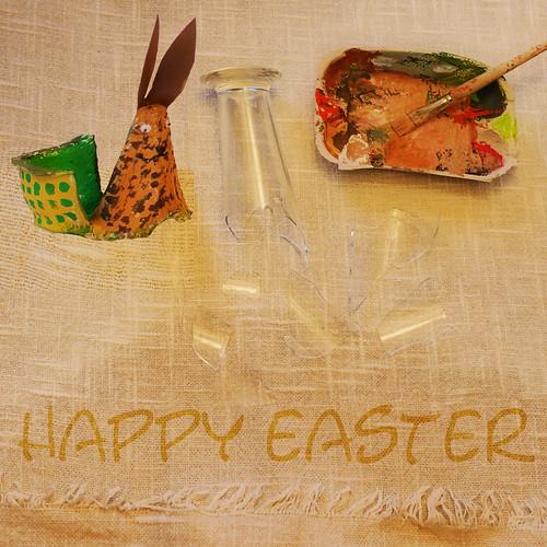 Happy Holidays! Happy Easter Buona Pasqua Pessach Frohe Ostern - Sprichwort: Scherben bringen Glück