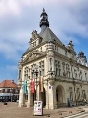 Rathaus von Peronne, Frankreich