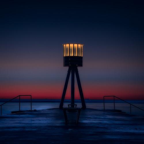 Bellevue pier lighthouse
