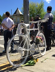 Ghost Bike for Dave
