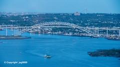 Bayonne Bridge over the Kill van Kull, Staten Island NY - Bayonne NJ
