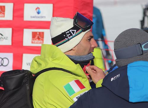 Emanuel Perathoner (ITA). Snowboard Cross World Cup, Veysonnaz, 16/03/2019