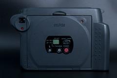 Rear view of Fujifilm Instax 100