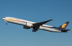 EGLL - Boeing 777 - Jet Airways - VT-JEH