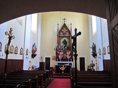 20110816 02 037 Jakobus Regelsbrunn Kirche Santiago Altar Bild