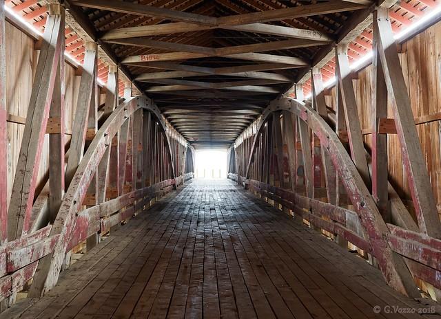 Medora Covered Bridge interior