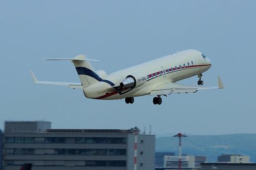 9H-BVJ(cn 8071) Bombardier CRJ 200 (Challenger 850) Blue Square Avn