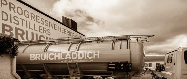 Spirit Tanker - Bruichladdich Progressive Hebridean Distillers