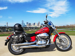 Downtown Dallas Motorcycle