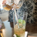 Iced lemongrass mint tea