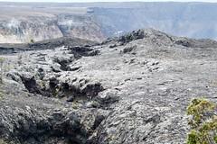 Kilauea rim lava flow on edge of old caldera DSC_0671 (1)