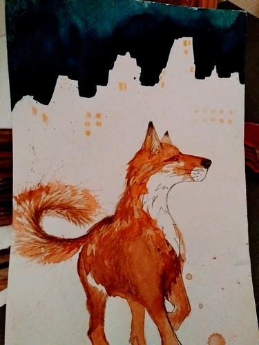 CityFox postcard 2016