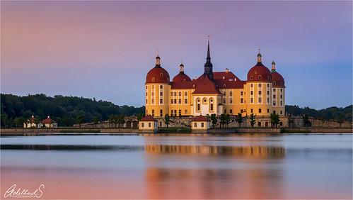 Moritzburg Sunset, Germany
