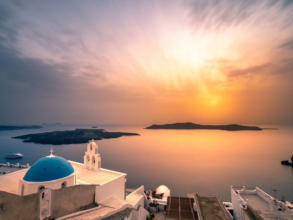 Firostefani, Santorini, Greece picture