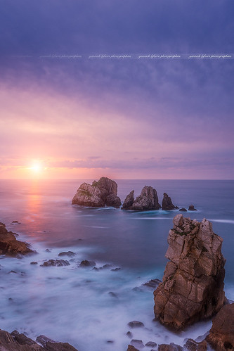 Sunset on Los Urros, Liencres ( Cantabria - Spain )