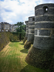 Towers of the Angers fortress