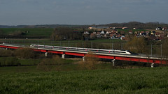 SNCF TGV 4521 Viaduc de la Zorn 28.03.2019 - Photo of Altenheim