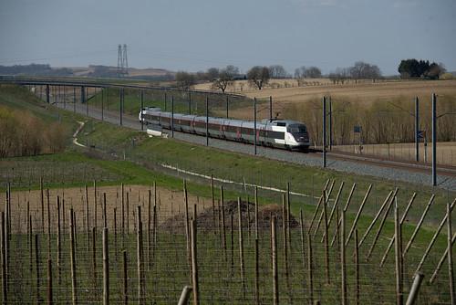 SNCF TGV 540 Eckwersheim 29.03.2019