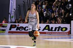 Championnat LFB: Esbva-Lm- Basket Landes: 71-77. Lisa Berkani