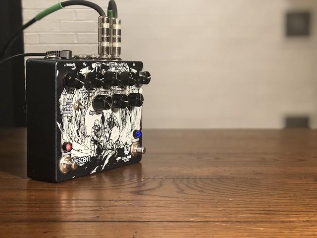 Photo:Walrus Audio Descent Reverb Pedal By GuitarChalk
