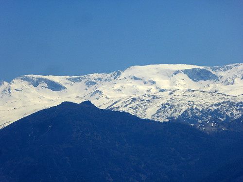 Sierra Nevada from Granada 2019