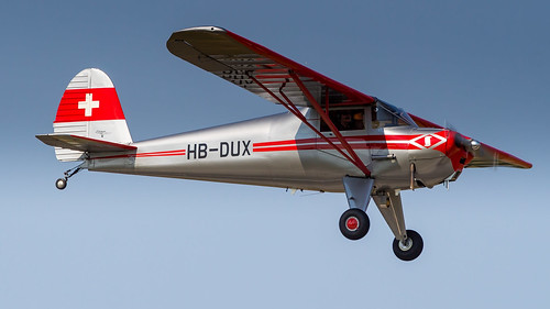 Luscombe 8A Silvaire HB-DUX Private