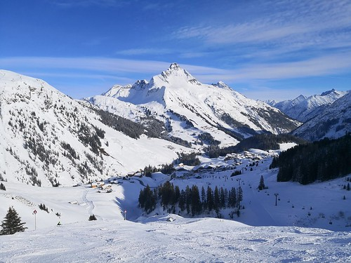 Red piste to Warth