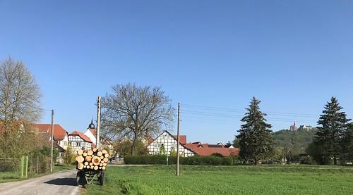 Deutschland, Thüringen, Landkreis Hildburghausen, Heldburg