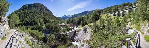 Bahnlehrpfad Preda - Bergün