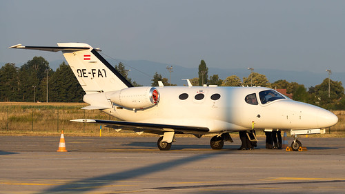 Cessna 510 Citation Mustang OE-FAT GlobeAir AG
