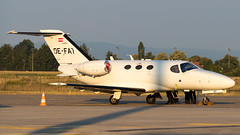 Cessna 510 Citation Mustang OE-FAT GlobeAir AG - Photo of Hangenbieten
