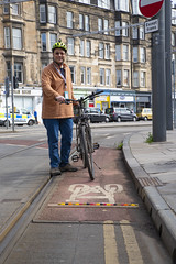 Haymarket, jelly babies & bike