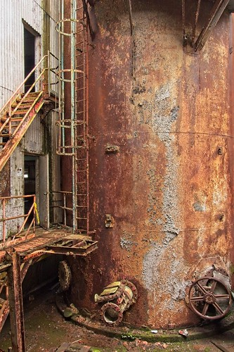 Rusted Factory Equipment 0646 A