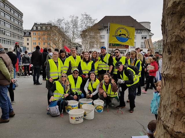 Cleanwalkers an der Klimademo <3