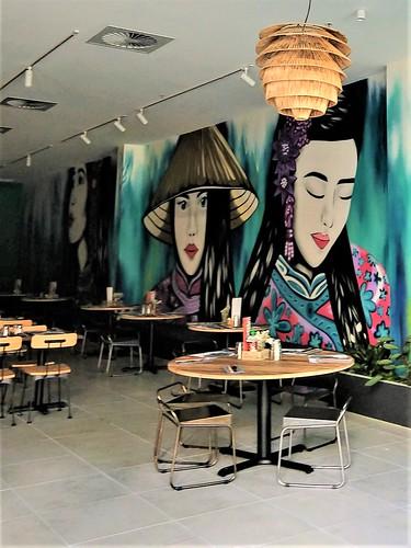 From the Mall: Vietnamese restaurant on Bradley Street, Woden Plaza, ACT, Australia