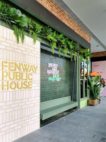 From the Mall: Fenway Public House, Bradley Street, Woden, ACT